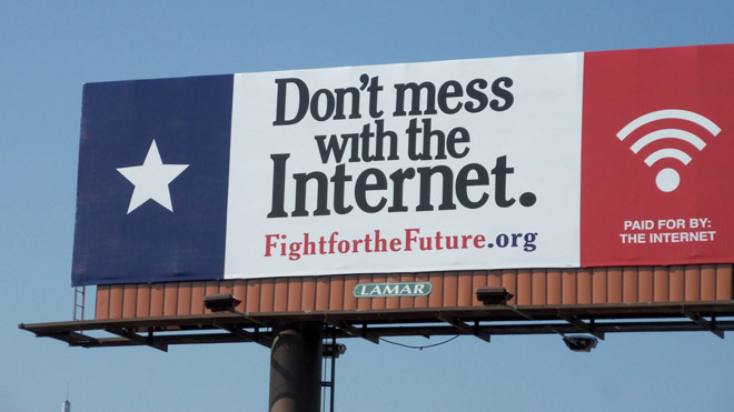 Don't mess with the Internet. Billboard!