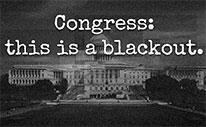 Congress Blackout