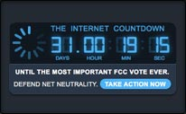 The Internet Countdown
